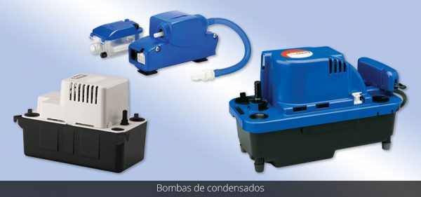 Motobombas y Bombas de Condensados
